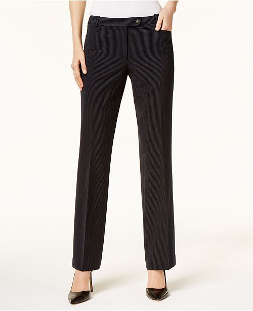 Calvin Klein Pinstripe Dress Pants