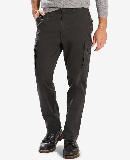 dc33e926718 Levi's Men's Slim-Fit Tapered Utility Cargo Pants & Reviews - Jeans ...