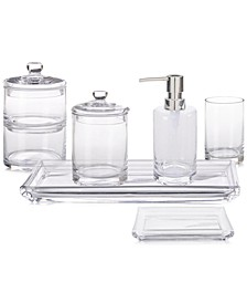 CLOSEOUT! Hotel Glass Bath Accessories, Created for Macy's