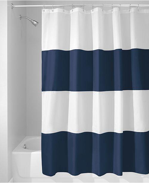 Zeno Stripe 72 X Shower Curtain