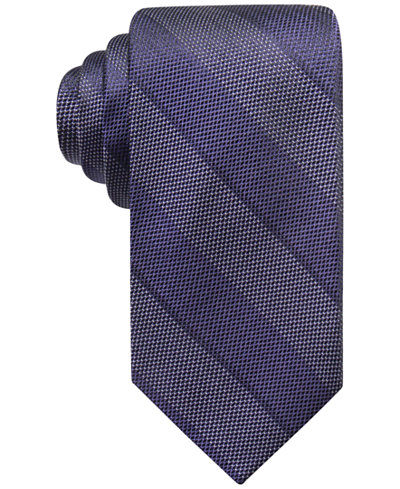 Ryan Seacrest Distinction™ Men's Islip Bar Stripe Silk Tie, Created for Macy's