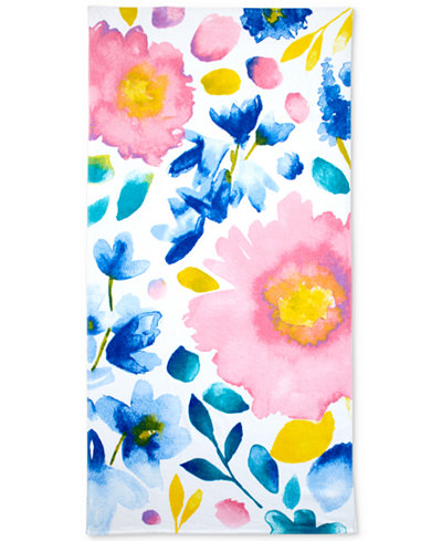bluebellgray Cotton Printed Beach Towel Collection