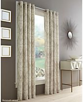 J Queen New York Roosevelt Grommet Curtain Panels