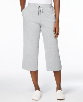 Karen Scott Petite Drawstring Capri Pants Created for Macys