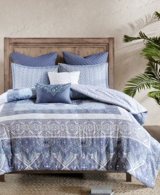 Maggie 7-Pc. Cotton King/California King Comforter Set