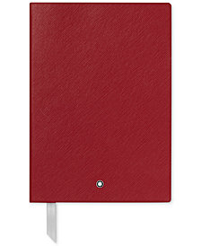 Montblanc Fine Stationery Red Notebook