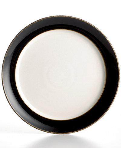 Denby Dinnerware, Praline Noir Salad Plate