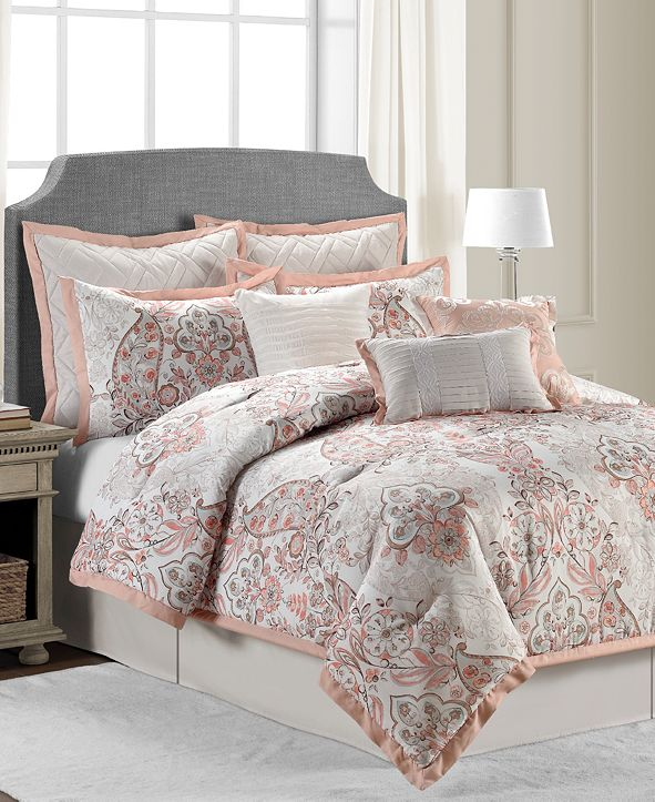 Sunham CLOSEOUT! Cambridge 10-Pc. Full Comforter Set