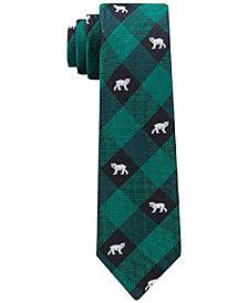 Tommy Hilfiger Polar Gingham Necktie, Big Boys