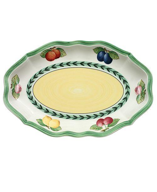 Villeroy & Boch Dinnerware, French Garden Gravy Boat Tray