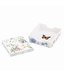 Lenox Butterfly Meadow Kitchen Napkin Holder, Created for Macy's