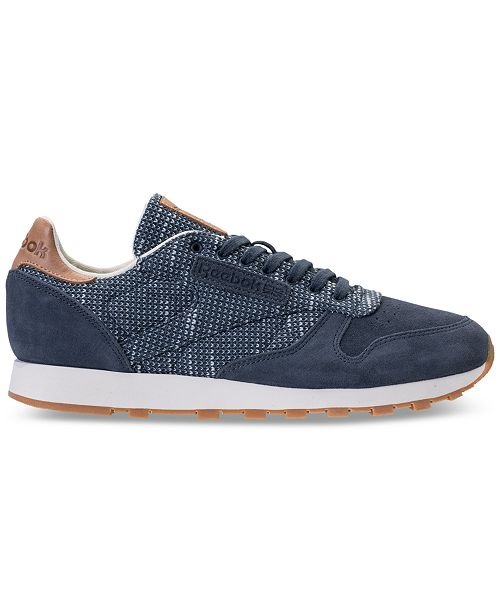 official photos b209f 72501 Men s From Sneakers Ebk Casual Finish Classic Line Leather Reebok dXwqYAaA
