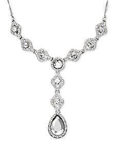 Crystal Y-Necklace Drop