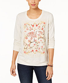 Style & Co Graphic-Print Sweatshirt, Created for Macy's