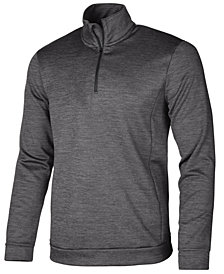 ID Ideology Men's Mock-Neck Quarter-Zip Shirt, Created for Macy's