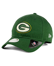 New Era Green Bay Packers Team Glisten 9TWENTY Cap