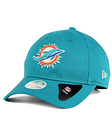 New Era Miami Dolphins Team Glisten 9TWENTY Cap