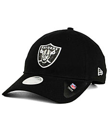 New Era Oakland Raiders Team Glisten 9TWENTY Cap