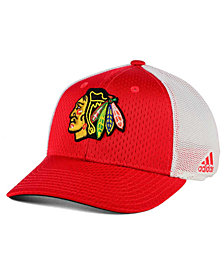 adidas Chicago Blackhawks Mesh Flex Cap