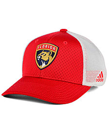 adidas Florida Panthers Mesh Flex Cap