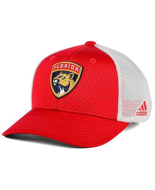 adidas Florida Panthers Mesh Flex Cap