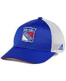 adidas New York Rangers Mesh Flex Cap