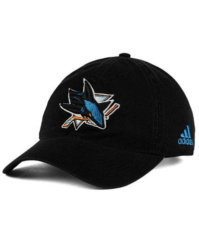 adidas San Jose Sharks Core Slouch Cap