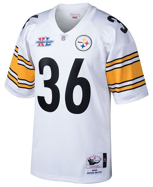 check out 48473 6db19 Men's Jerome Bettis Pittsburgh Steelers Authentic Football Jersey
