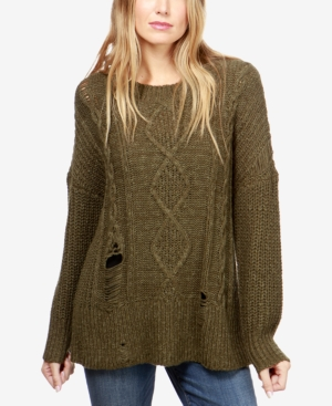 Lucky Brand Ripped Sweater...