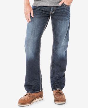 Silver Jeans Co. Men's Gordie Loose Fit Jeans 5254522