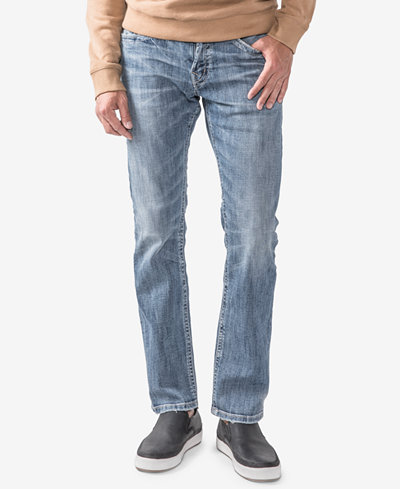 Silver Jeans Co. Men's Konrad Slim Fit Straight Jeans