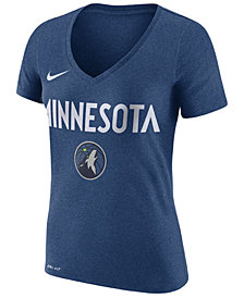 Nike Women's Minnesota Timberwolves Wordmark T-Shirt