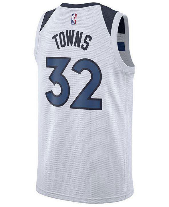 Nike Men's Karl-Anthony Towns Minnesota Timberwolves Association Swingman Jersey