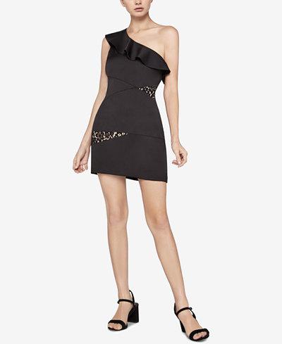 BCBGeneration One-Shoulder Sheath Dress