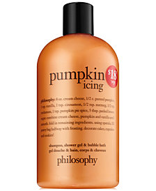 philosophy pumpkin icing shower gel, 16-oz.