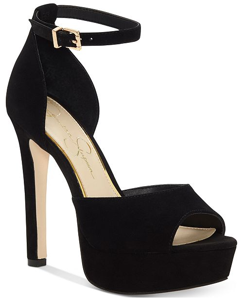 da1c407fe63 ... Jessica Simpson Beeya Two-Piece Platform Sandals