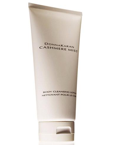 Donna Karan Cashmere Mist Body Cleansing Lotion, 6.7 oz