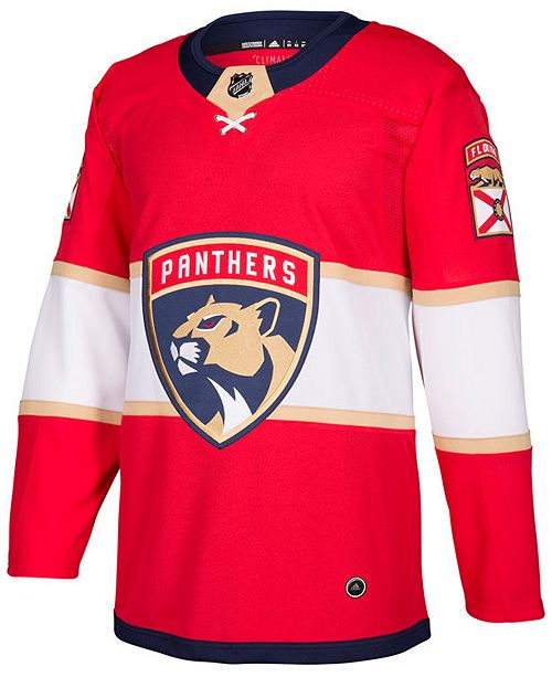 ce1960877 adidas Men s Florida Panthers Authentic Pro Jersey - Sports Fan Shop ...