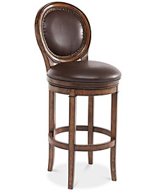 "Greece 26"" Swivel Counter Stool, Quick Ship"