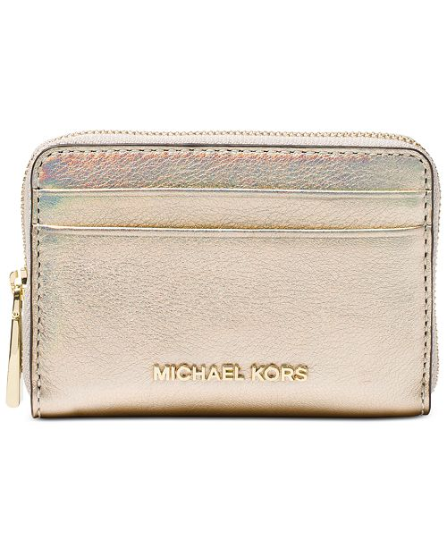 20873c53c0a4 Michael Kors Zip-Around Card Case   Reviews - Handbags ...