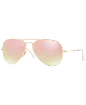 52394e2371 ... best price ray ban ray ban original aviator sunglasses rb3025 58 gold  pink mirror a12ca 09510