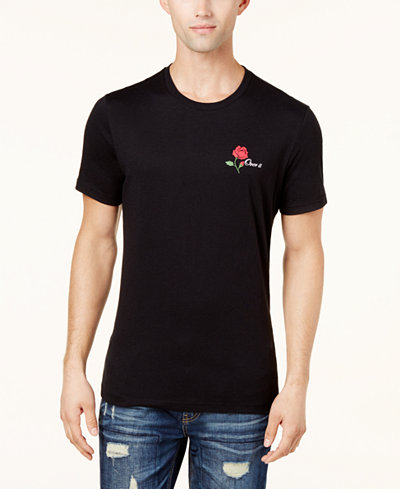 American Rag Men's Over It Printed Rose T-Shirt, Created for Macy's