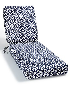 Sunbrella Chaise Pads Luxe and Prints, Quick Ship