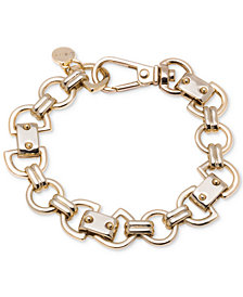 DKNY Gold-Tone Link Bracelet, Created for Macy's