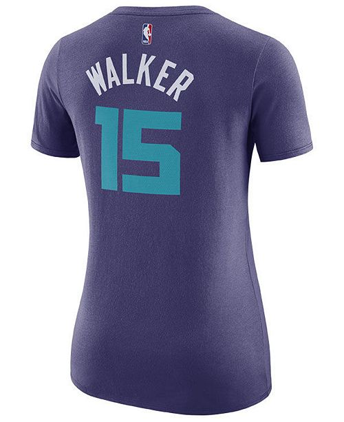 Nike Women's Kemba Walker Charlotte Hornets Name & Number Player T-Shirt