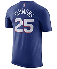 Men's Ben Simmons Philadelphia 76ers Name & Number Player T-Shirt