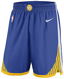 Nike Men's Golden State Warriors Icon Swingman Shorts