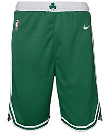Boston Celtics Icon Swingman Shorts, Big Boys (8-20)