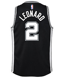 Nike Kawhi Leonard San Antonio Spurs Icon Swingman Jersey, Big Boys (8-20)
