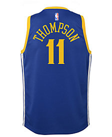 Nike Klay Thompson Golden State Warriors Icon Swingman Jersey, Big Boys (8-20)